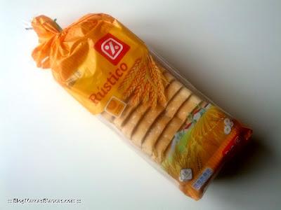 Pan de molde rústico DIA
