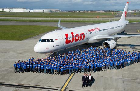 Lion Air Airbus A321
