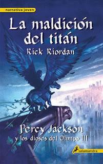 Percy Jackson y los Dioses del Olimpo de Rick Riordan Sdzd