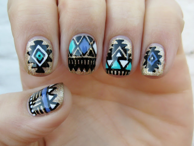 south american nailart