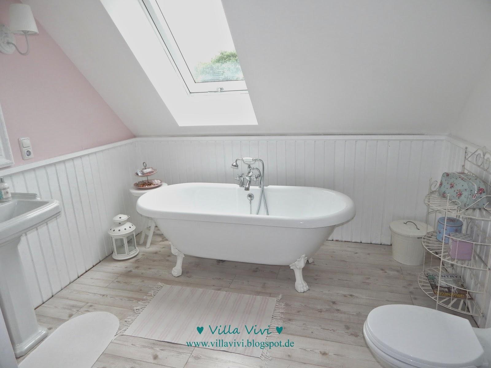 Schwedenhaus badezimmer  ♥ Villa Vivi ♥: min lilla rosa badrum