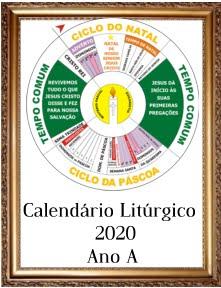 CALENDÁRIO LITÚRGICO 2020