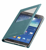 Samsung Galaxy Note 3 Flip Cover Blue