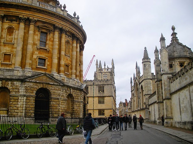 Oxford University in Oxford, England