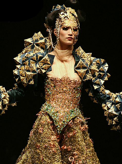 Guo Pei is showing at Digital Fashion Week