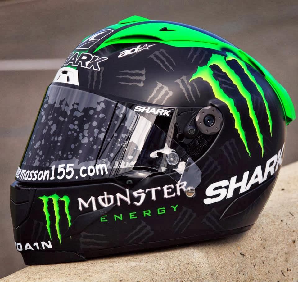 racing helmets garage shark race r pro e masson 2013 by aerodiffusion. Black Bedroom Furniture Sets. Home Design Ideas