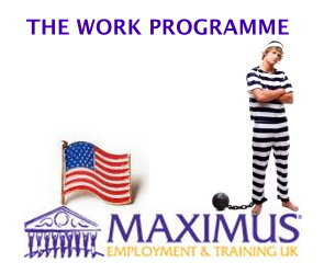 Maximus Employment and Training Work Programme protest
