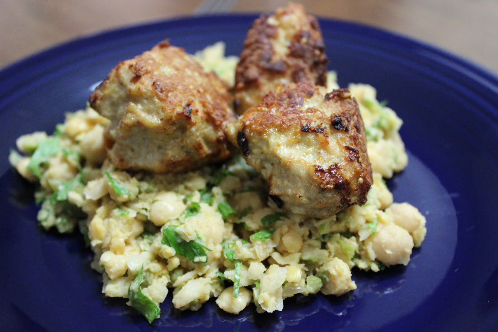 That S What She Fed Sesame Spiced Turkey Meatballs With Smashed