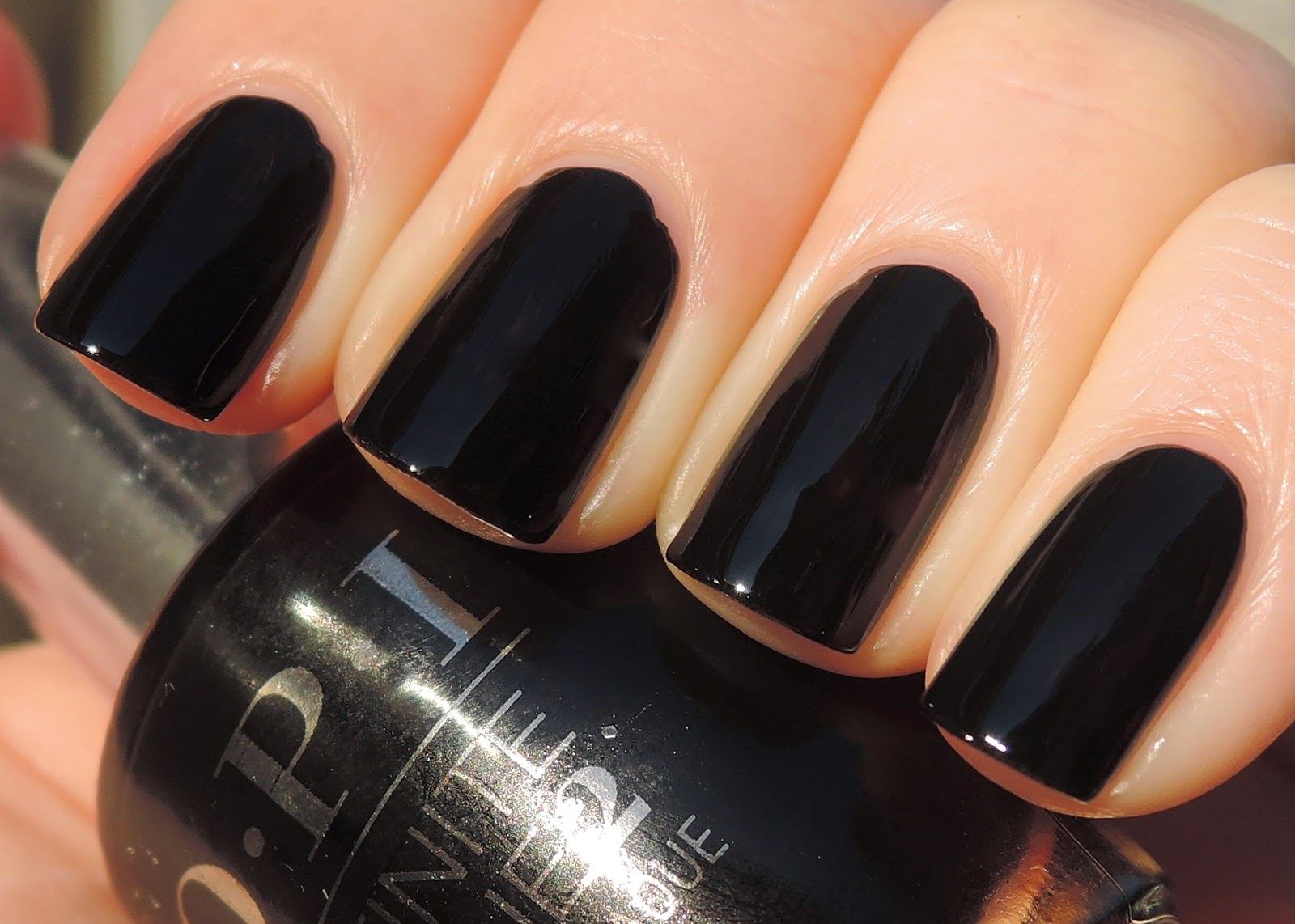 OPI Infinite Shine We're In The Black
