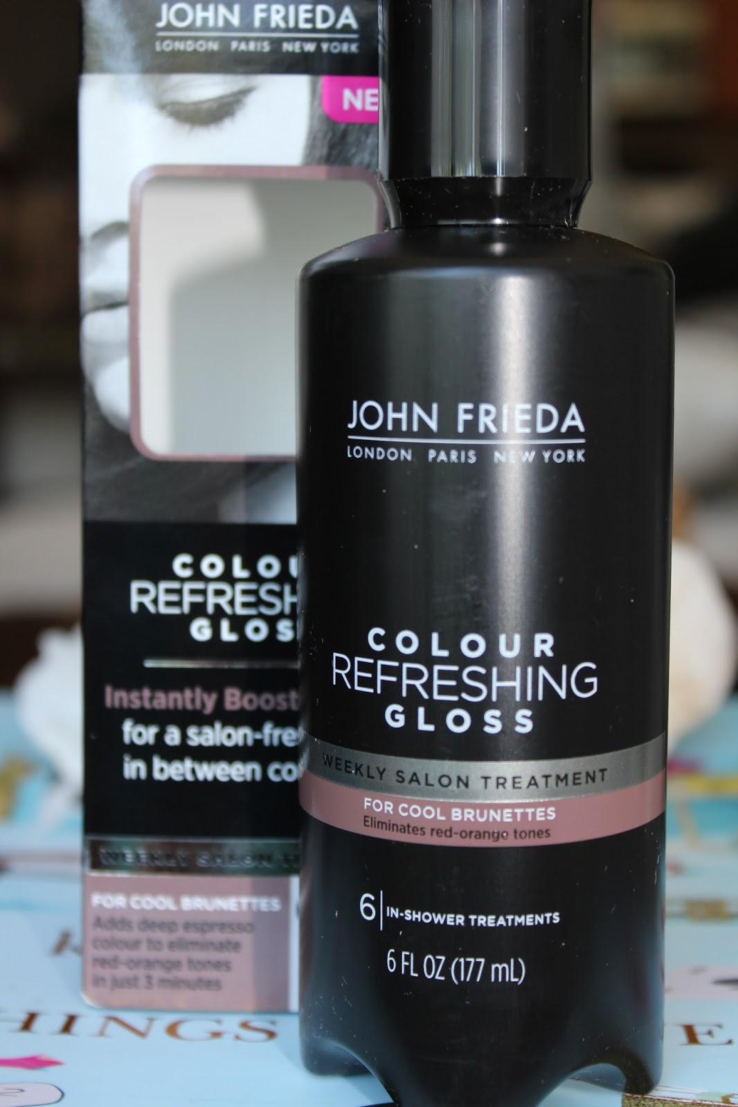 john frieda colour refreshing gloss - Color Refreshing Gloss