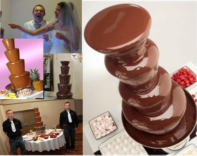 Cascada de chocolate profesional venta
