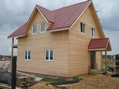 Пример конструкции каркасного дома для проектирования и строительства фундамента