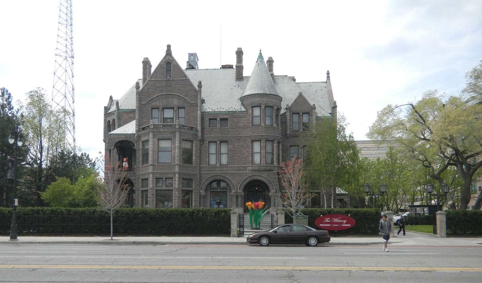 Detroit experience the whitney mansion restaurant and for The whitney