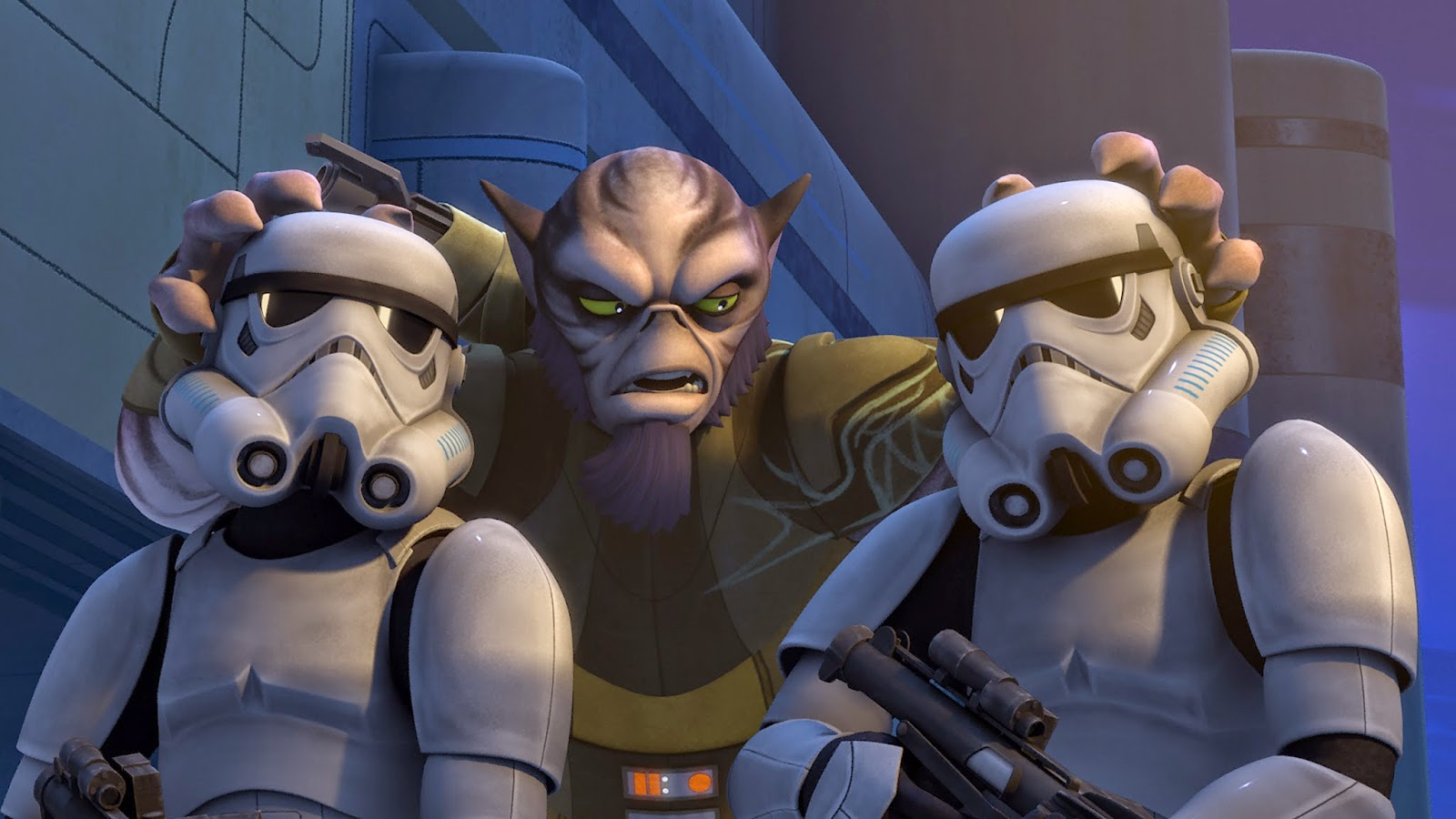 "Star Wars Rebels episode ""Rebel Resolve""!"