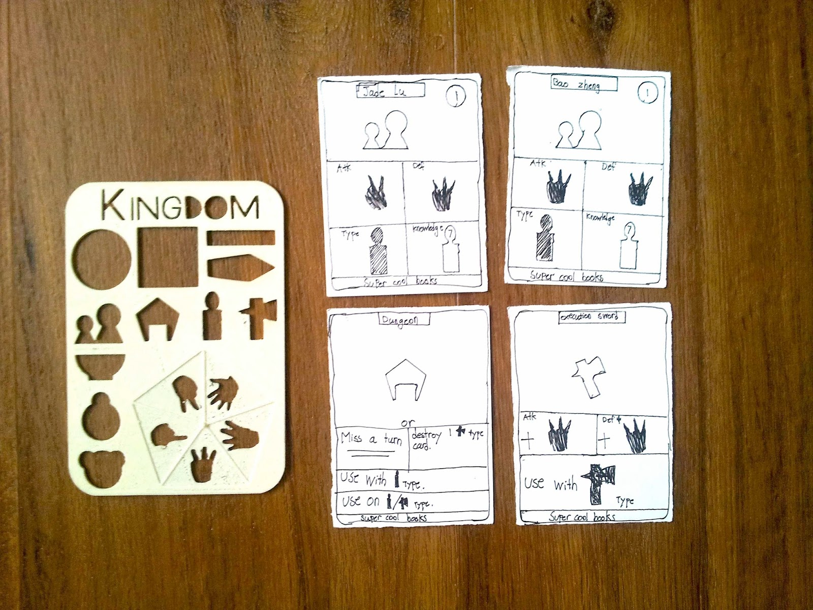 Super cool books updates making a kingdom card game cooking up really amazed at this card game prototype made by my son using our kingdom game design stencil try it yourself here solutioingenieria Choice Image