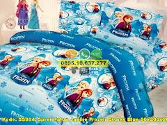 Harga Sprei Katun Jaxine Frozen Disney Blue 90x200x20 Jual