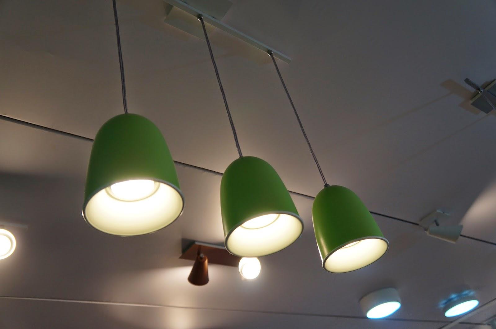 Luminárias com variedade de cores - Adimar Iluminação - Expolux 2014