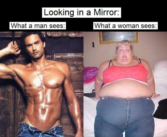 Smart Man Vs Fat Woman