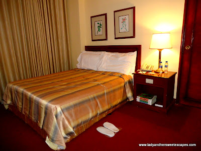 room of BayView Park Hotel Manila