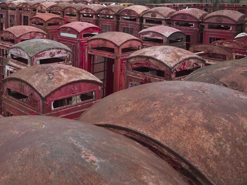 Deserted Places: UKs red telephone box graveyard