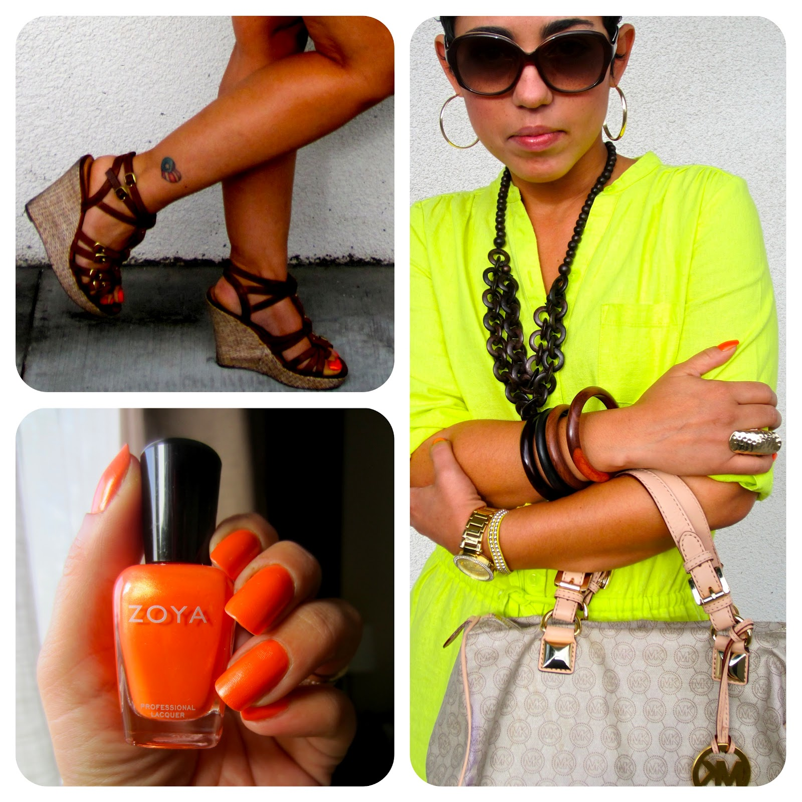 What i wore neon lights fashion lifestyle and diy