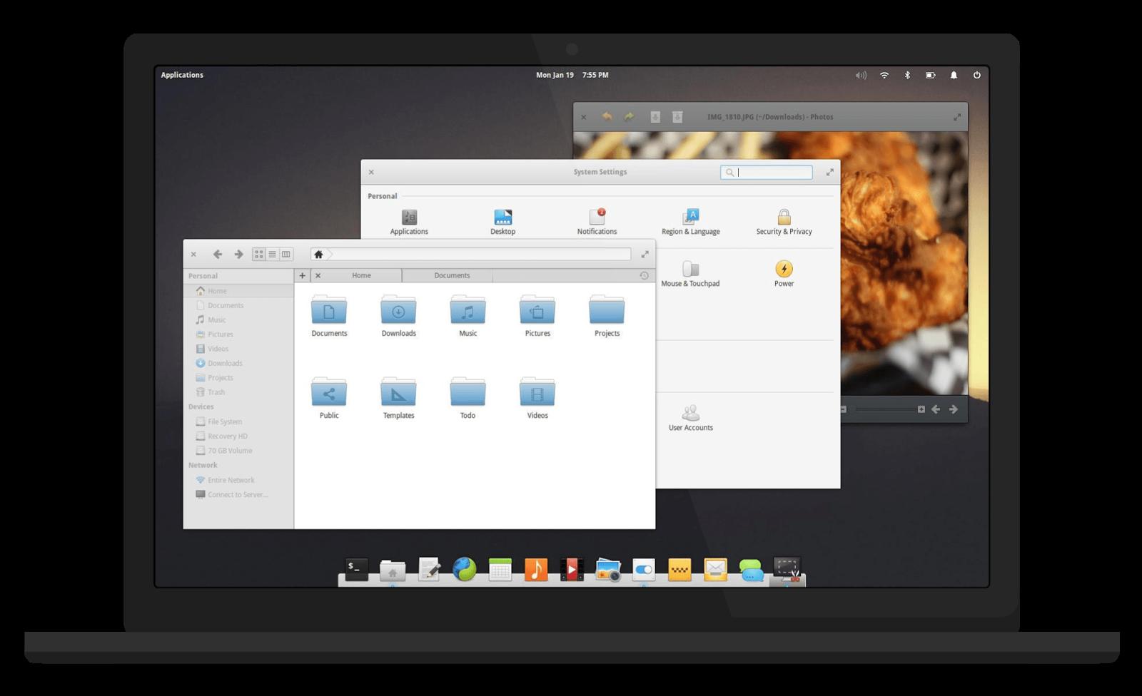 Descargar Elementary OS Freya, freya estable, escritorio de mac en linux