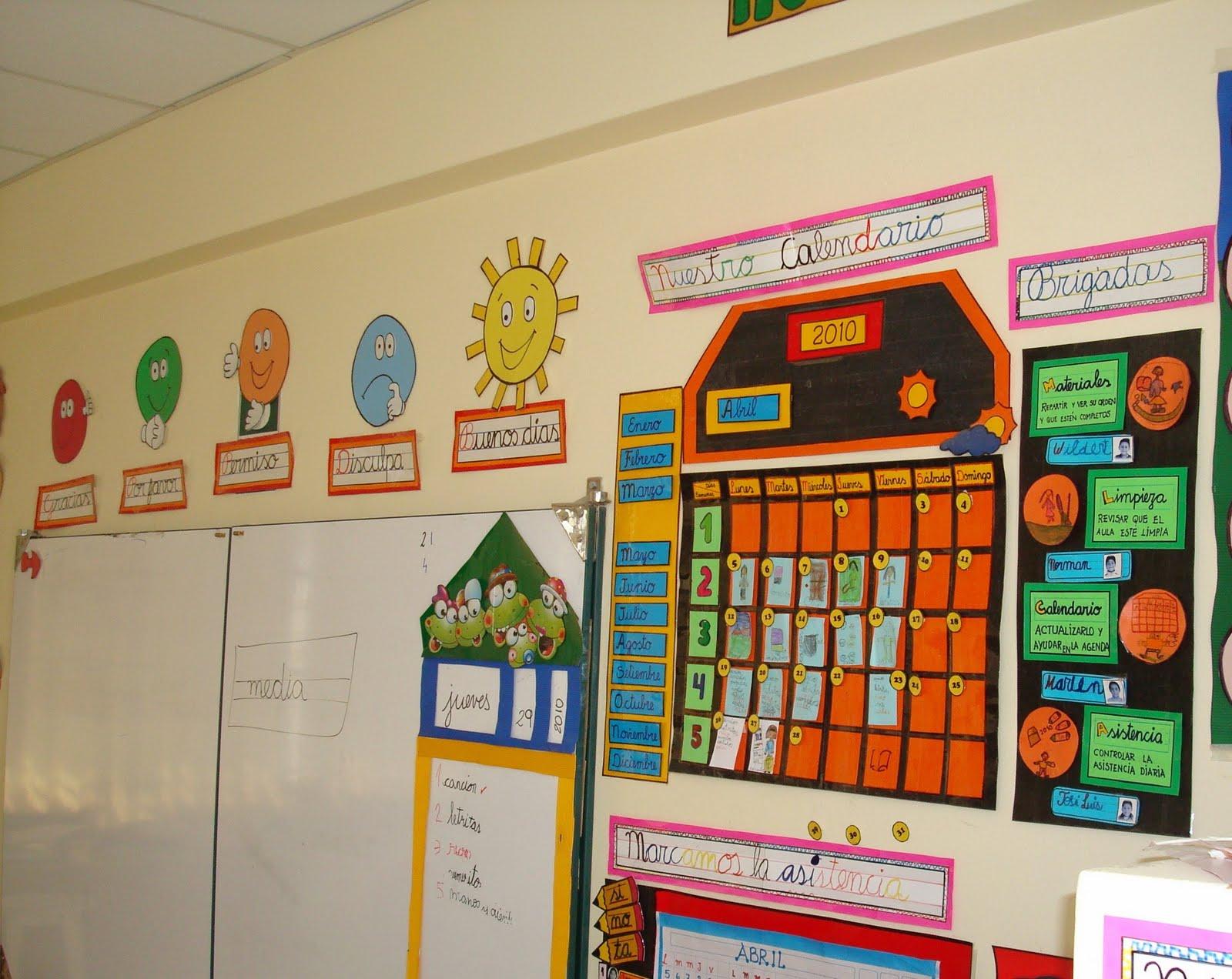 Decoración de salon de clases de primaria - Imagui