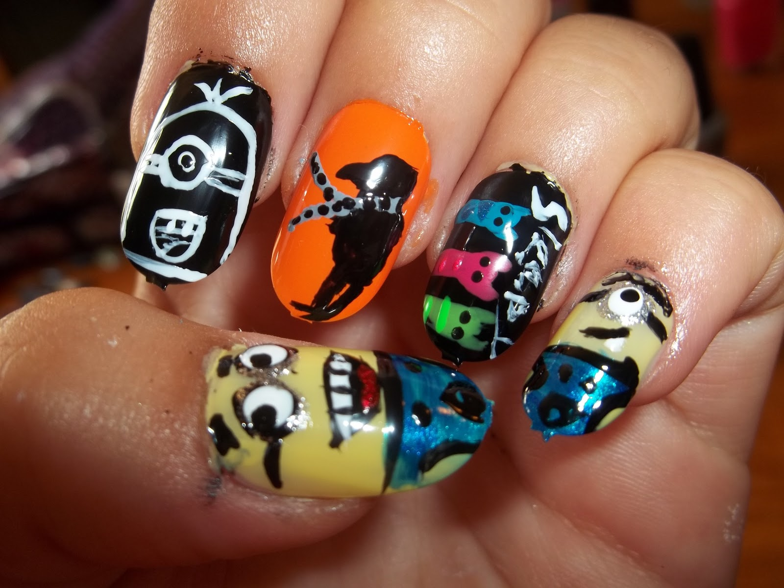 Kick Ass Nails: Despicable Me Nails