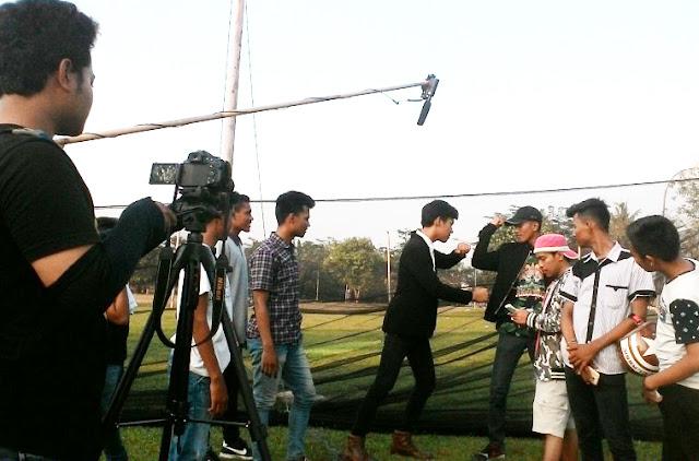 Paten Kali Bah ! Anak Muda Pantai Burung Bikin Film Pendek