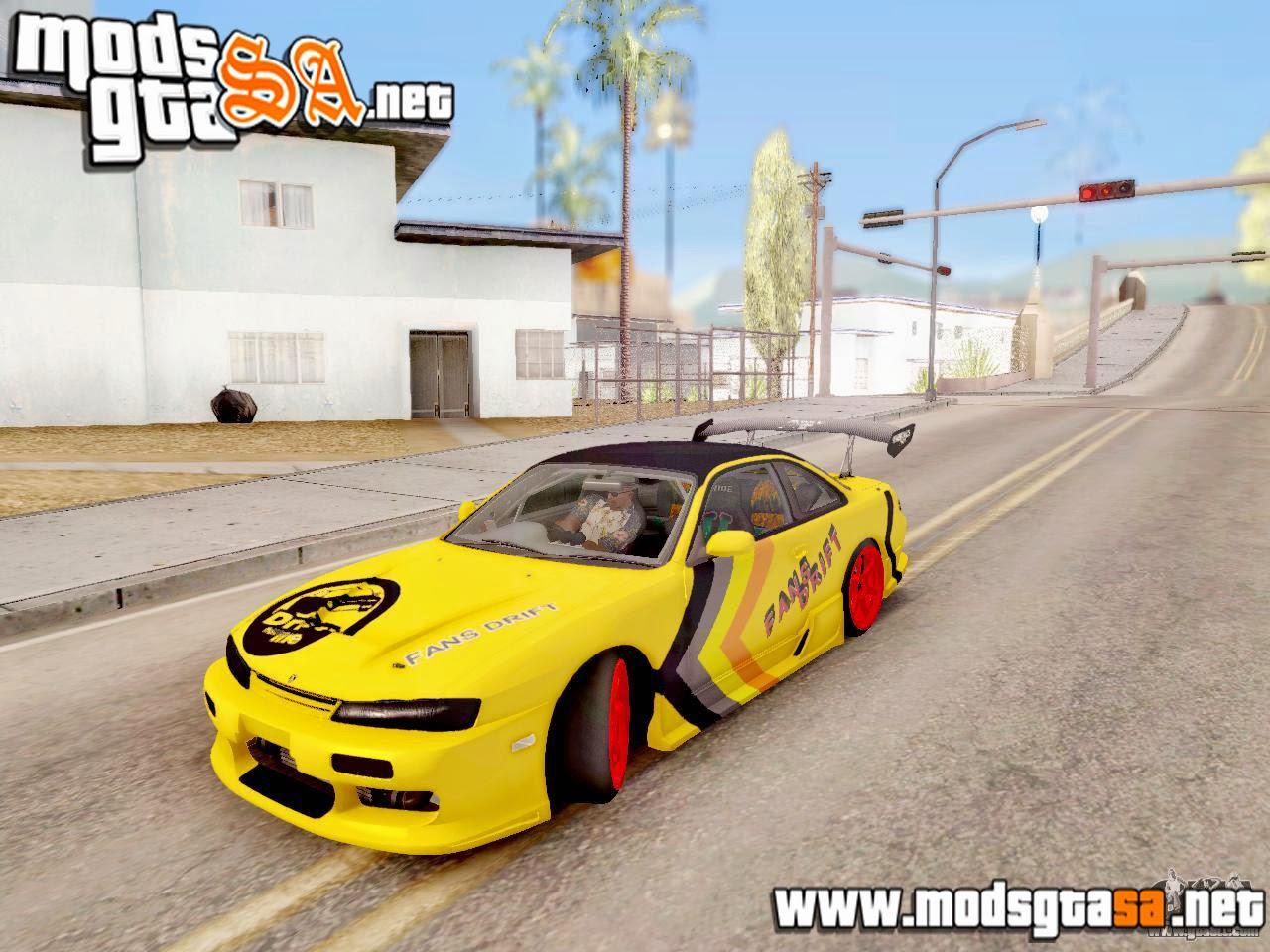 SA - Mod Dirigir Carros Igual ao GTA IV