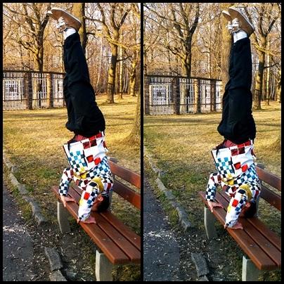 trening w parku