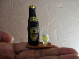 My Handmade Miniature Beer Bottle