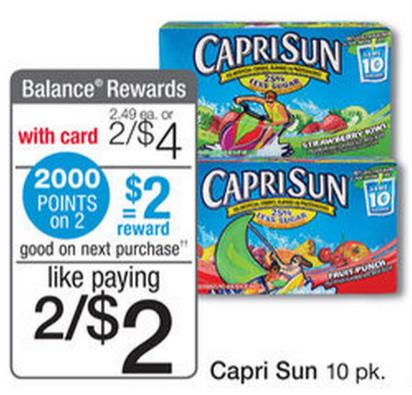 Capri sun coupons kroger