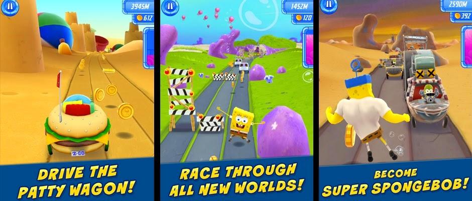 SpongeBob Sponge on the Run v1.0 Apk + Data + Mod