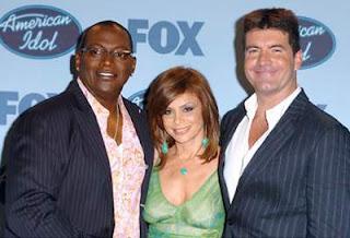 Randy Jackson, Paula Abdul, and Simon Cowell