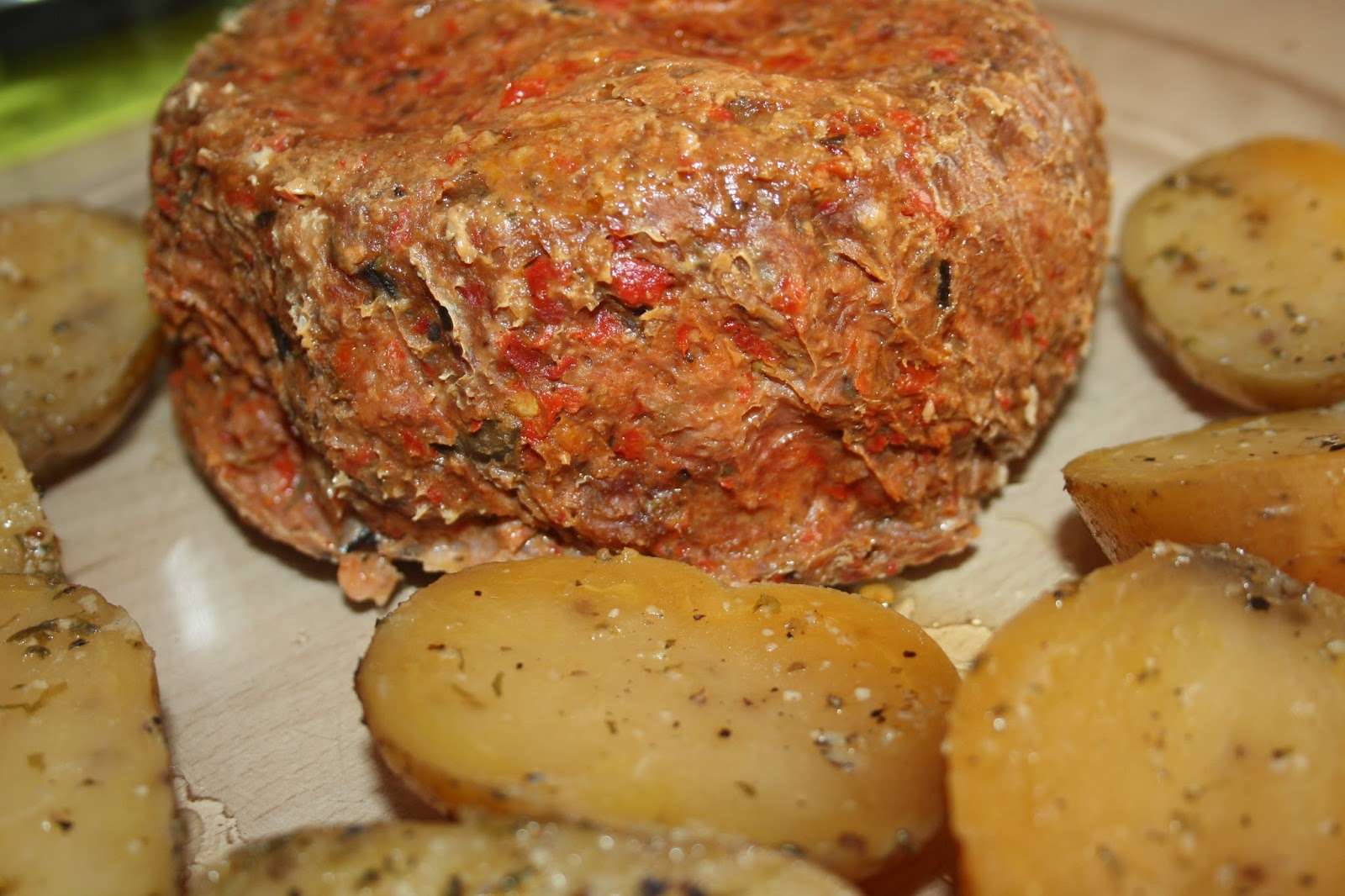 Pastel de carne picada con patatas asadas slow cooker un regalo al paladar - Que cocinar con carne picada ...