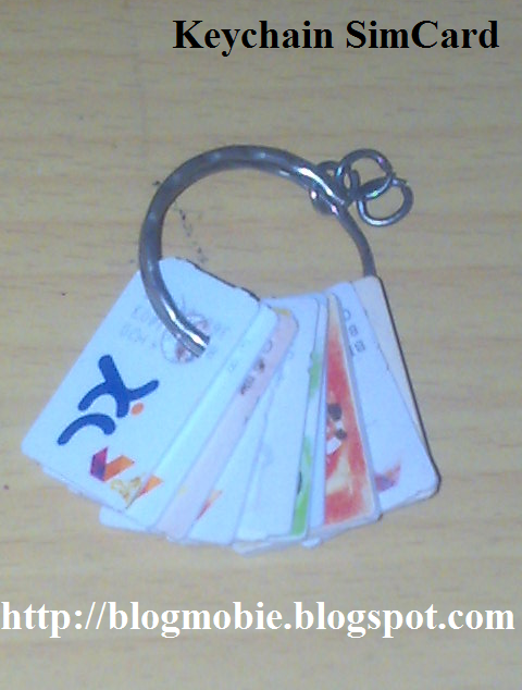 Gantungan Kunci Sim Card