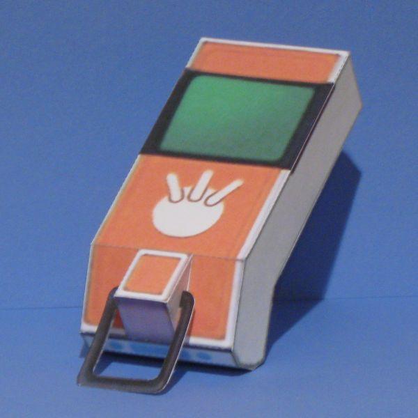Digimon Digivice Papercraft Digimon Papercraft Marcus