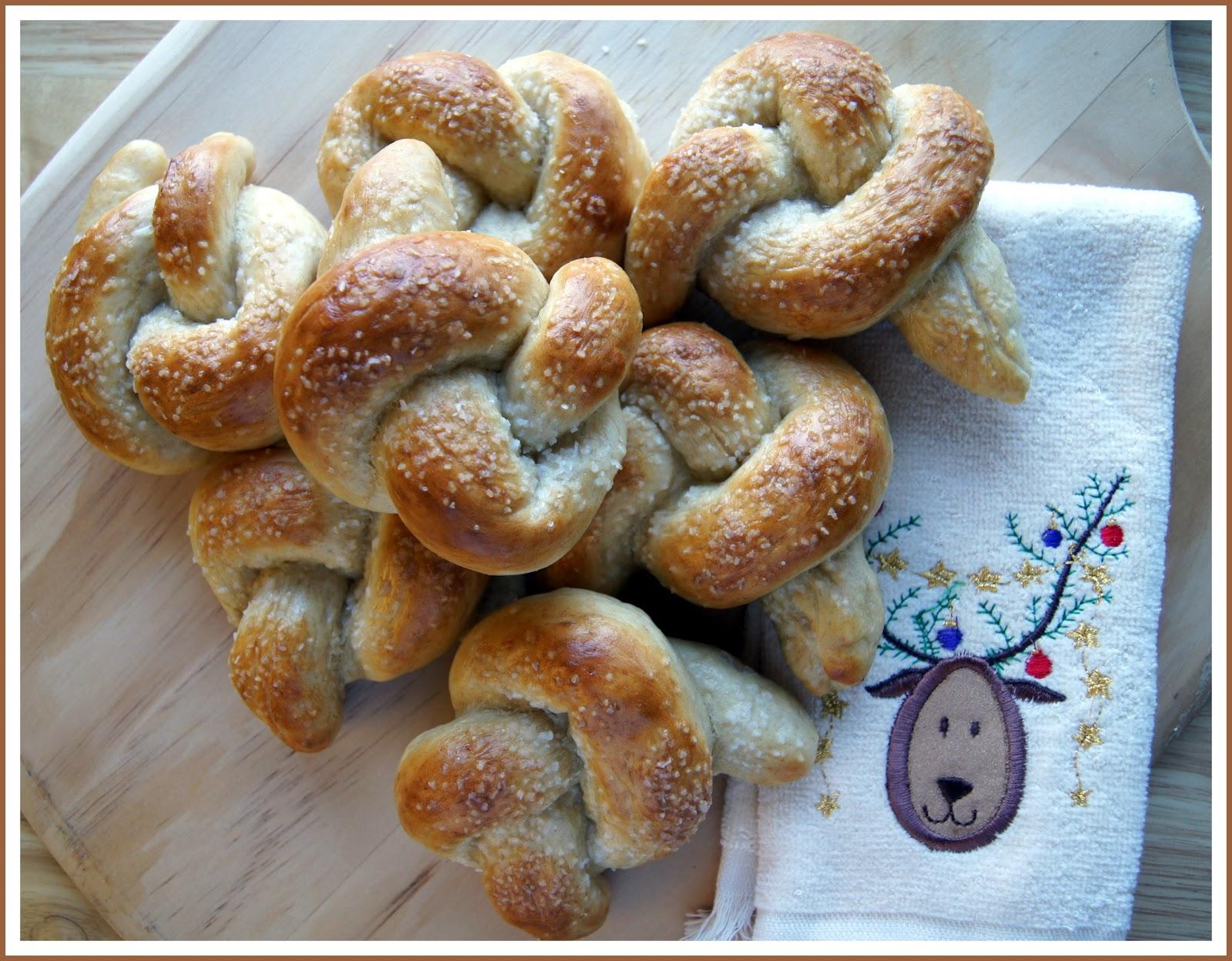 Karen Cooks: Homemade Soft Pretzels