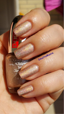 Pupa n.39 Holographic Taupe