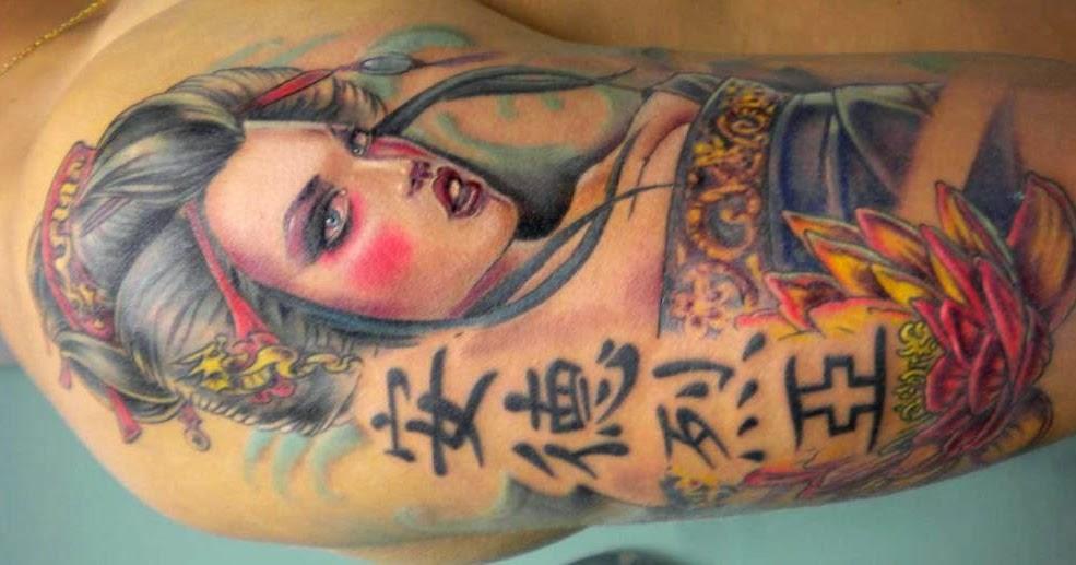 geisha tattoos and meanings geisha tattoo designs and