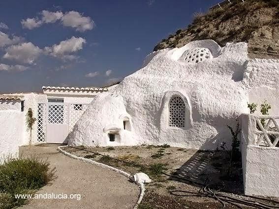 Baño Turco Para Ninos:Original de una casa cueva de Al Jatib