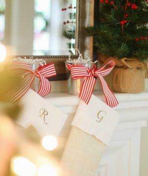 easy diy stocking holders
