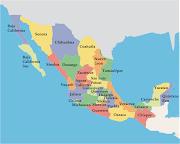 Mapa de México. Sin embargo