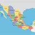 República Mexicana: mapa de los estados mexicanos