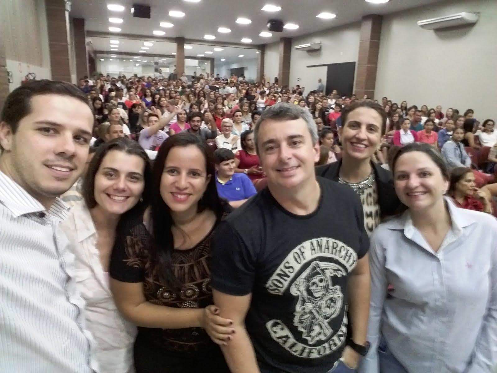 RECEPÇÃO AOS CALOUROS UNESC 2017