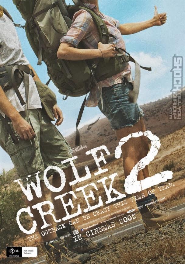 Póster austrialiano y fecha del trailer de 'Wolf Creek 2'