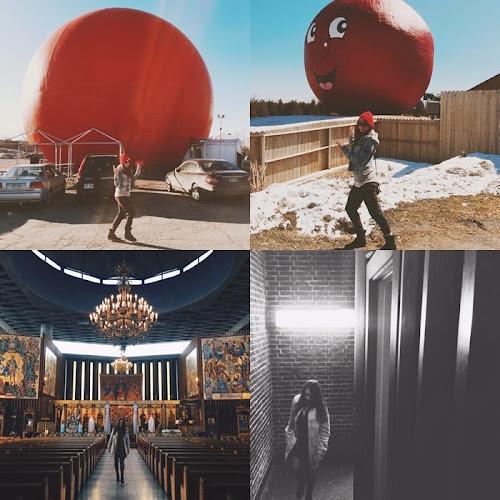 Instagram:Nikki Tira Fotos A Caminho De Montreal