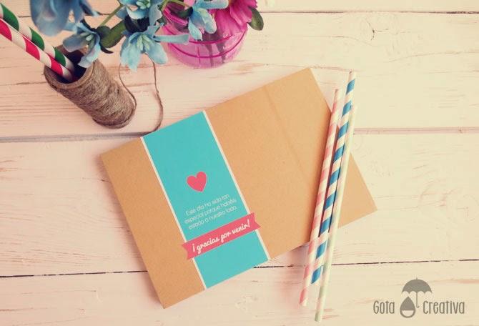 libro de firmas boda Gota Creativa