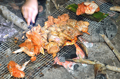 bbq barbecue sanctuari ikan kelah sungai chiling